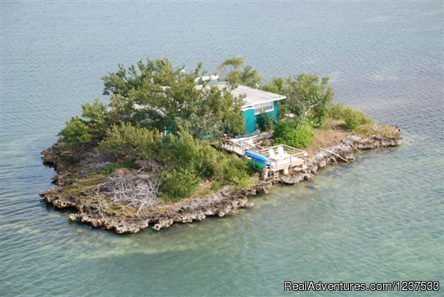 Romantic Private Island Home - weekly rental