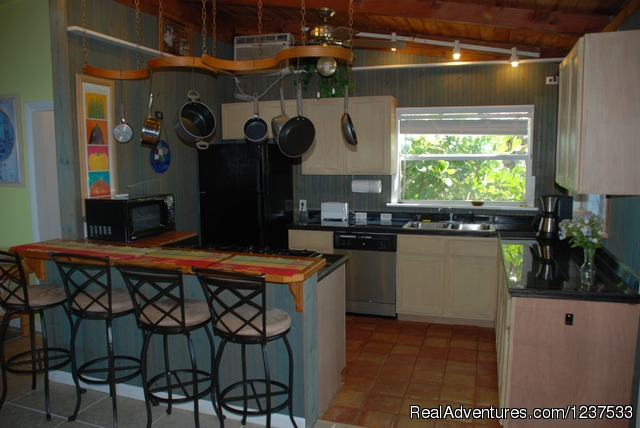 Kitchen - Romantic Private Island Home - weekly rental