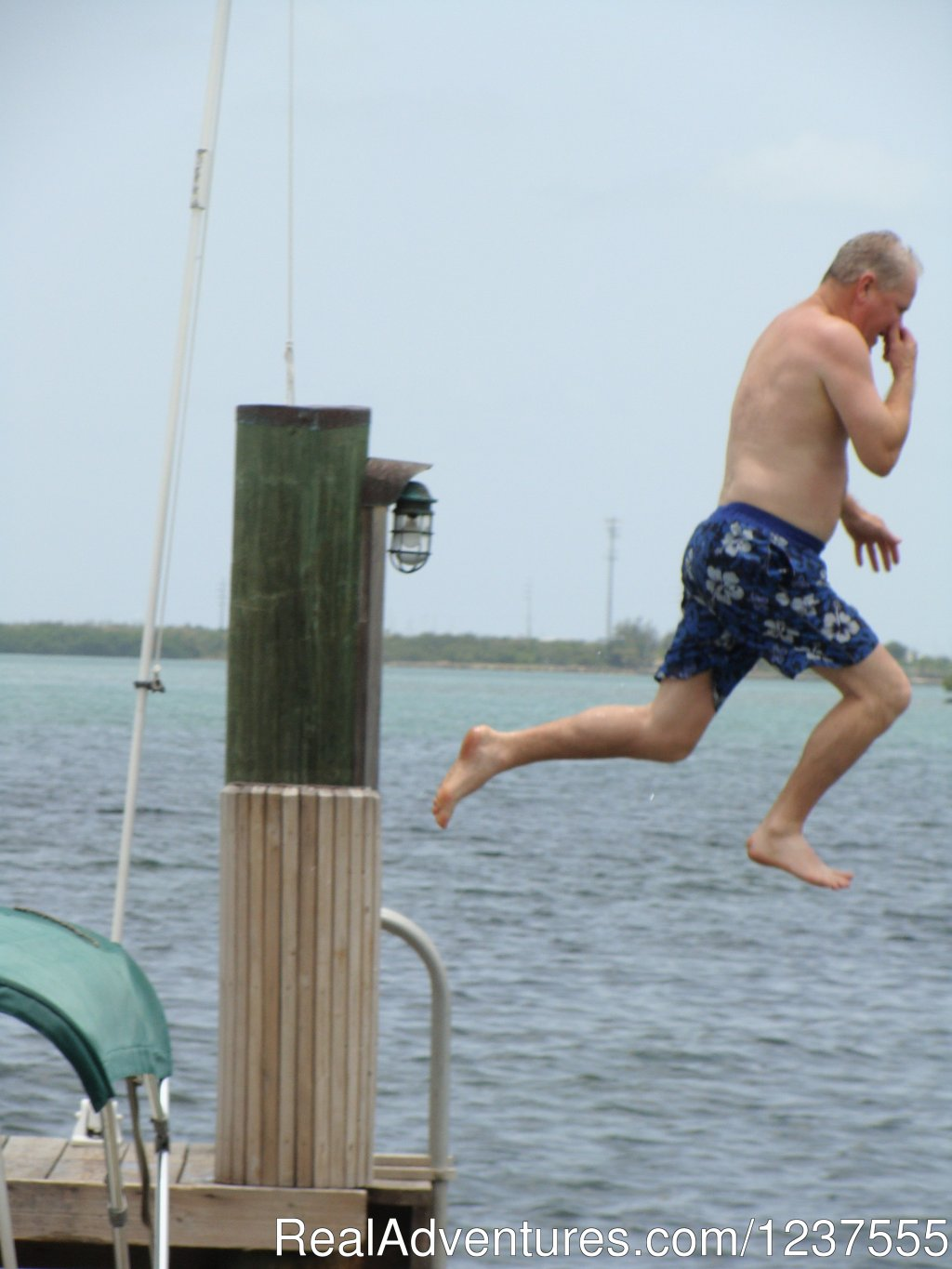Jump in...the water is perfect. | Image #18/24 | Seabird Key, Private Island,  Sandy beach & boat