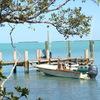 Seabird Key, Private Island,  Sandy beach & boat