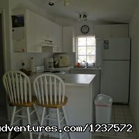 Cottage 1 Kitchen - Affordable Ocean front Cottages