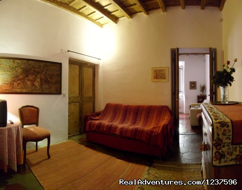 livingroom - Elegant apartment near piazza Navona
