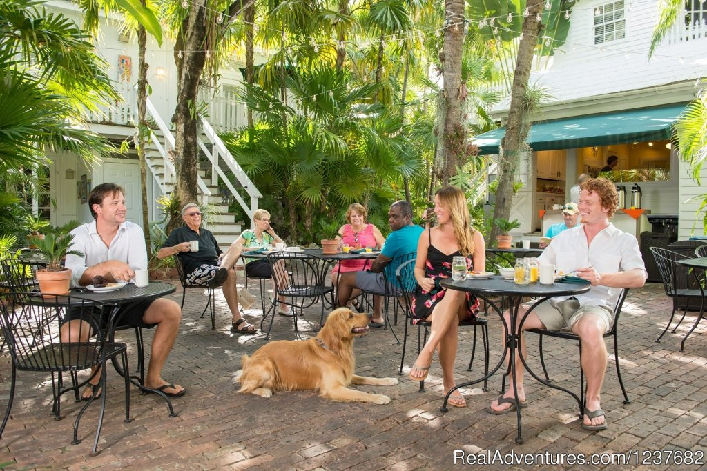 Old Town Manor, formerly Eaton Lodge, is ideally located just steps off of Duval Street in the heart of Old Town Key West near Mallory Square, Sloppy Joe's, and Margaritaville. Built in 1886, our classic setting and location can't be beat.