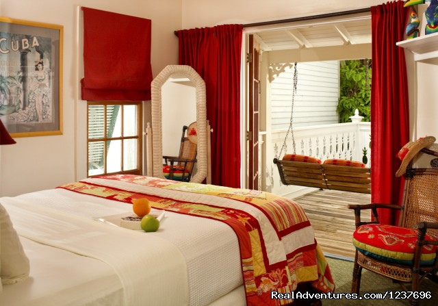 Most Romantic Inn in Key West Tropical Inn, Banyan Tree Suite