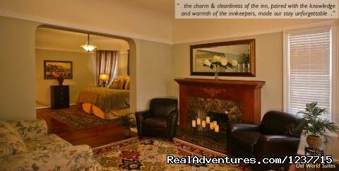 - Napa Valley Getaway at an award-winning B&B