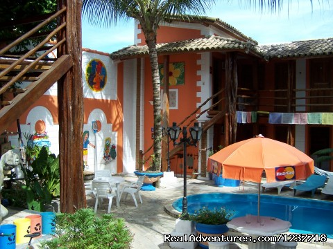 Arraial d'Ajuda Hostel: swimming pool