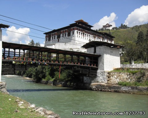 Bhutan Budget tour: Paro Dzong on your 1st day tour