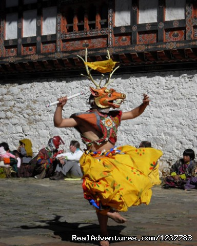 tshechu the local festival - Bhutan Budget tour