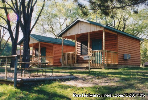 Log Cabins Rentals - Indian Trails Campground
