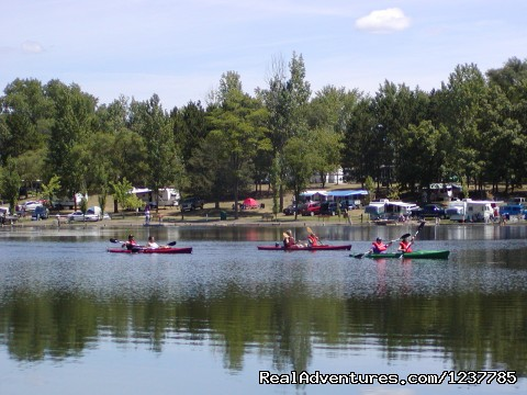 Rent Canoes, kayaks, Rowboats and Paddleboats - Indian Trails Campground