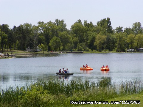 Rental Boats - Indian Trails Campground