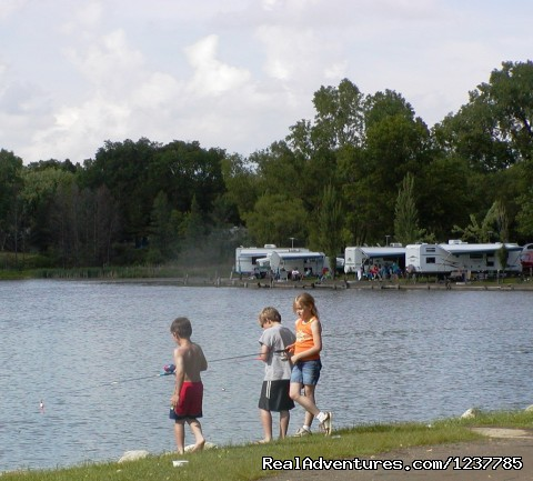 Fishing Hot spot - Indian Trails Campground
