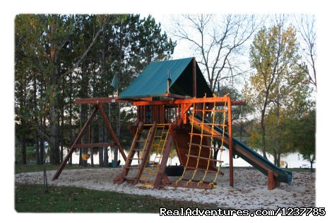 Kids love the 4 playgrounds - Indian Trails Campground