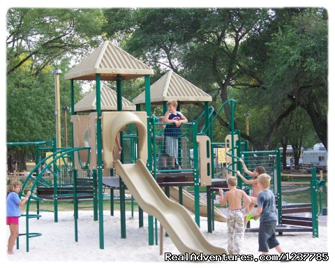 Main Playground at the Store - Indian Trails Campground