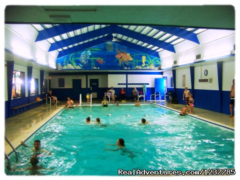 Indoor Pool - Indian Trails Campground