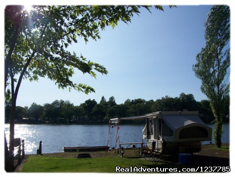 Golf La Prairie >> Indian Trails Campground, Pardeeville, Wisconsin Campgrounds & RV Parks | RealAdventures