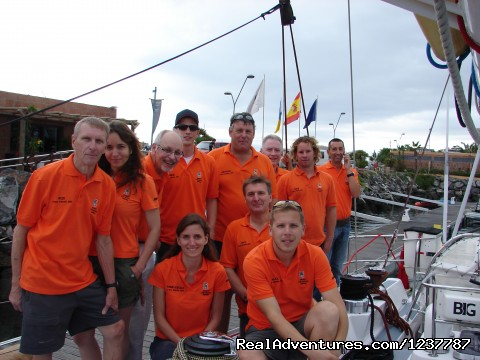 A happy crew! - Adventure Sailing Experiences and Holidays