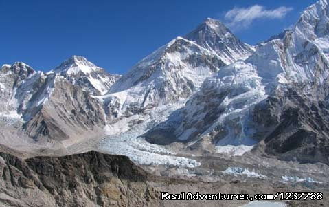 Everest base Camp trek: a Beautiful view of Everest
