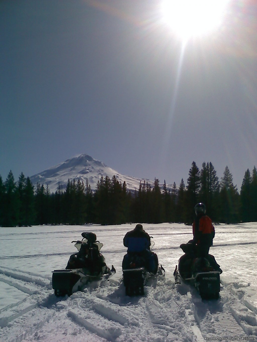 A lunch break at Jack Rabitt Flat | Image #10/12 | Ride the volcano Snowmobile Mt Shasta, Ca.