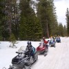 Ride the volcano Snowmobile Mt Shasta, Ca.