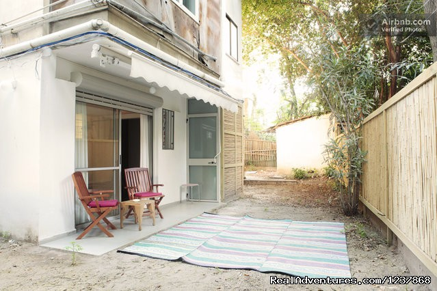 - A new renovated 1 bedroom+  garden