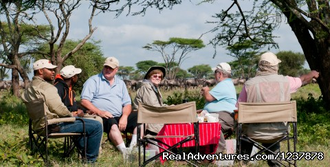 Bush Breakfast (#7 of 14) - Maasai Wanderings- The Great Migration