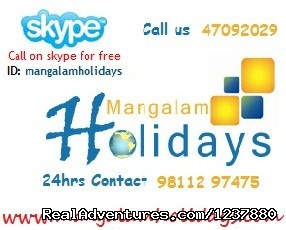 Travel to India: Mangalam Holidays