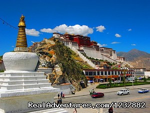 the Potala Palace (#2 of 7) - Small Group Expedition for 7 Days Mt. Everest Tour