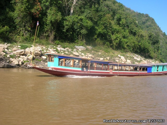 - 2 days Mekong river Boat trip