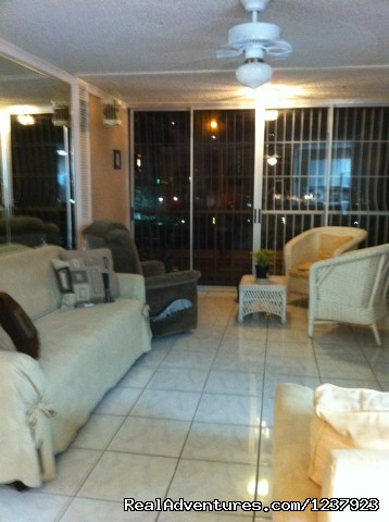Living Room (#6 of 22) - Beautiful Apt in Isla Verde-Free bus to beach