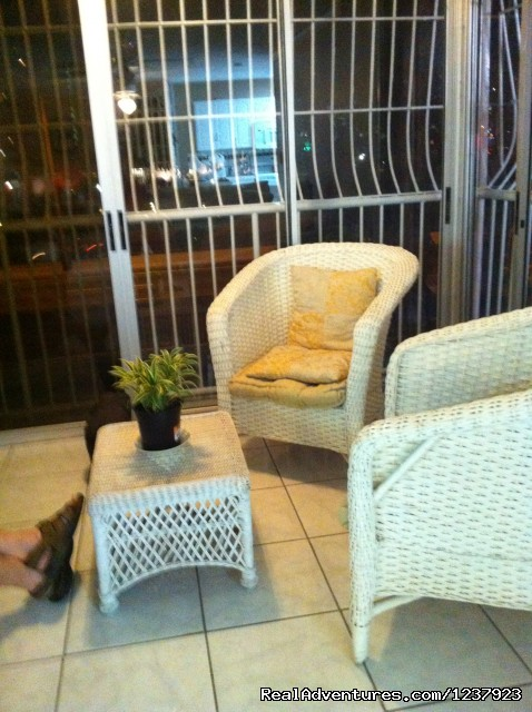 Sitting Area - Beautiful Apt in Isla Verde-Free bus to beach