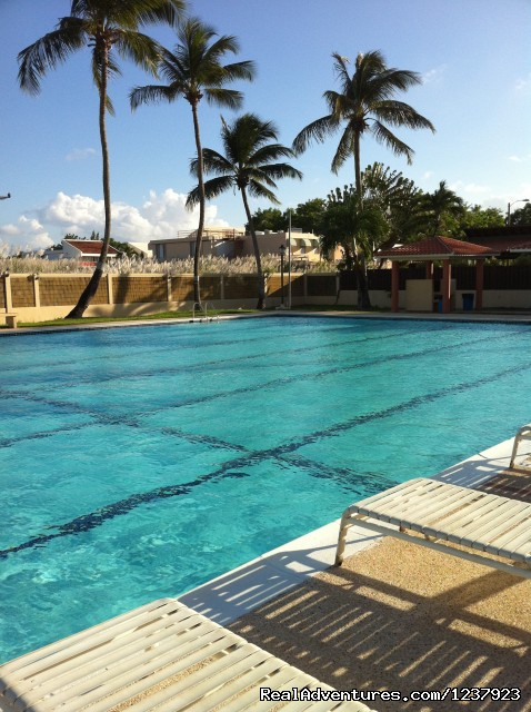Pool (#19 of 22) - Beautiful Apt in Isla Verde-Free bus to beach