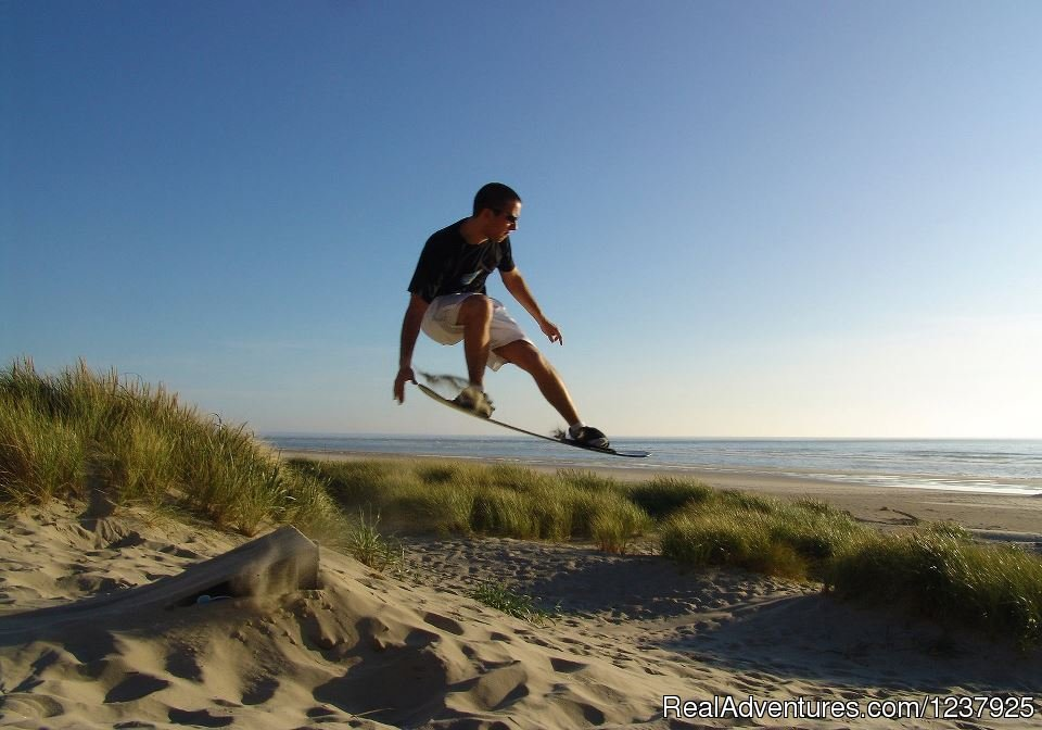 The 'cool' of sandboarding