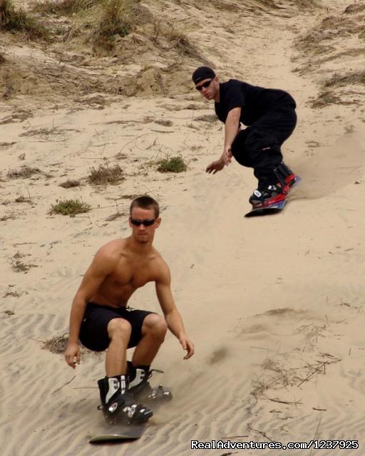 Sandboarding 2 - Sand Master Park