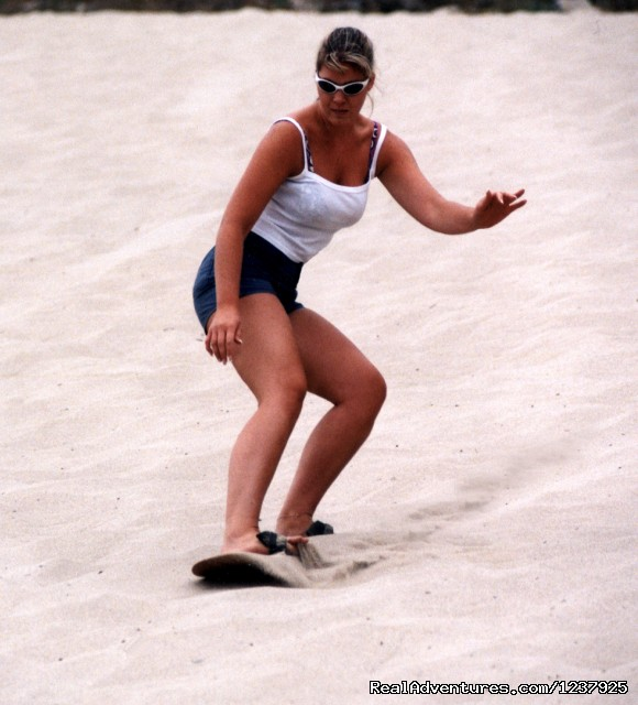 Sand Master Park Sandboarding 1