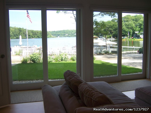 Relax in the Great Room...Water View & 55' HD TV - Kayaking & Much More... At Waters Edge Beach House
