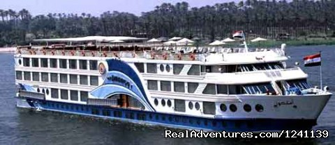 Sunny Egypt romantic Nile cruises 50 US$ per Pers.