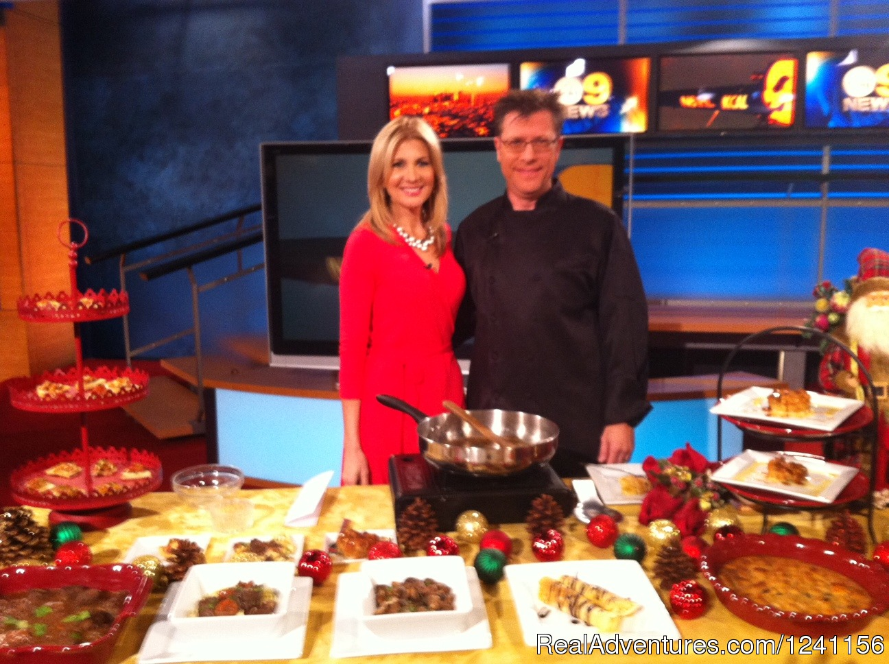 KTLA Cooking Demo Video | Image #1/4 | Los Angeles, California  | Cooking Schools | Chef Eric's Culinary Classroom