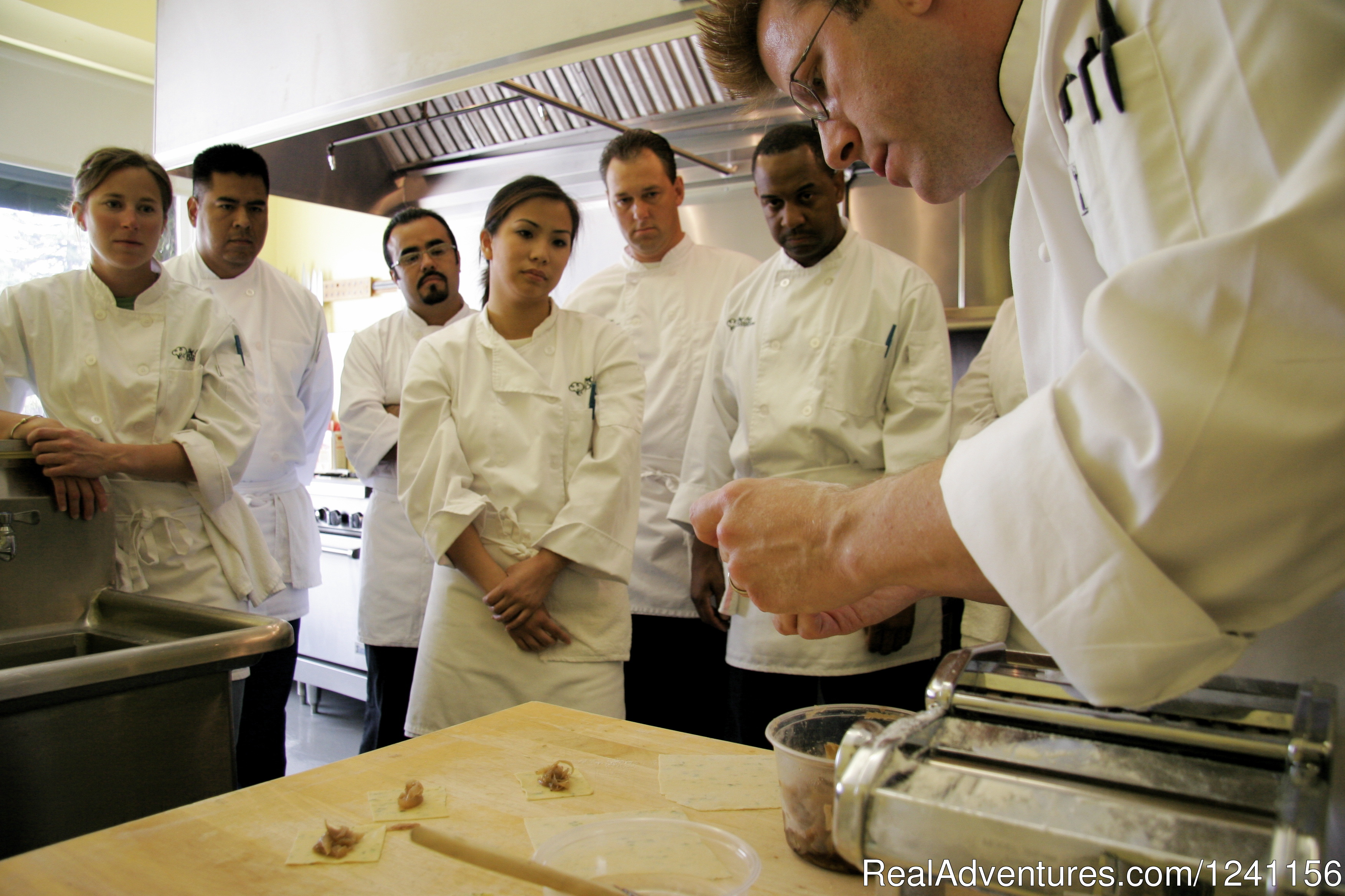 Master Chef Training - Demo | Image #2/4 | Chef Eric's Culinary Classroom