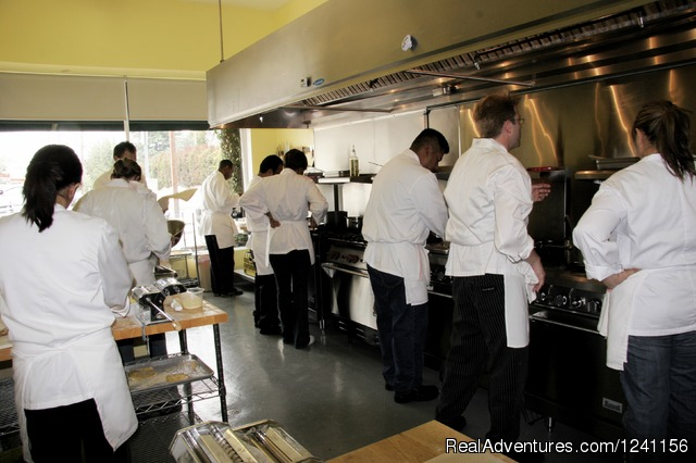 Master Chef Program - Kitchen - Chef Eric's Culinary Classroom
