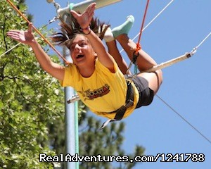 Pali Adventures Summer Camp Flying Trapeze - Pali Adventures Summer Camp