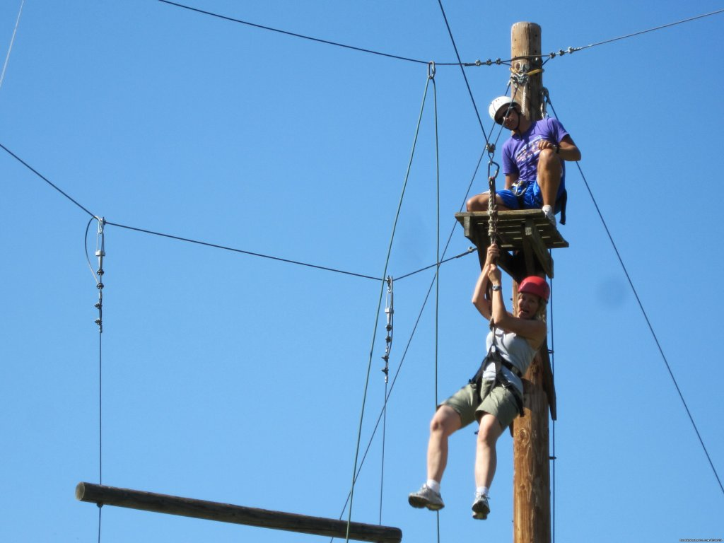 Ropes Course Challenge Course | Image #5/15 | Wonder Valley Family Camp