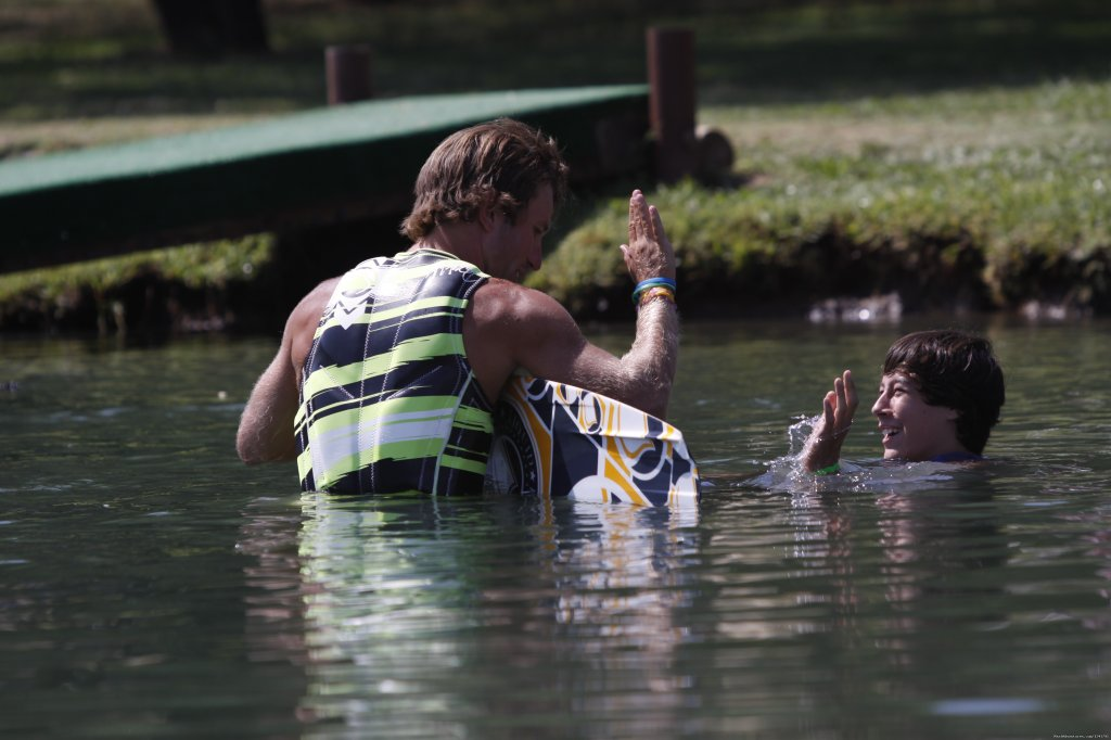 Water-Ski Instruction | Image #7/15 | Wonder Valley Family Camp