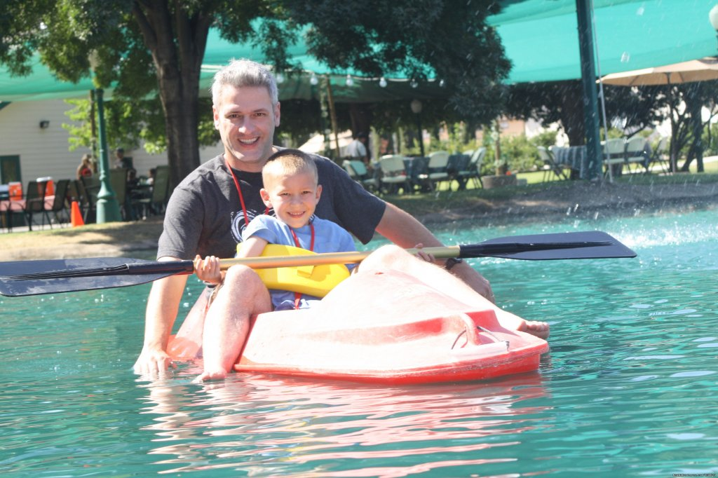 Kayaking with the little ones! | Image #8/15 | Wonder Valley Family Camp