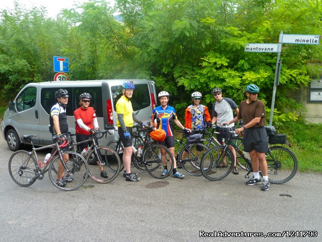Water stop on route (#5 of 6) - Primavera del Prosecco - Bike the Wine Roads