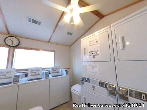 Laundry Room - Texan RV Ranch