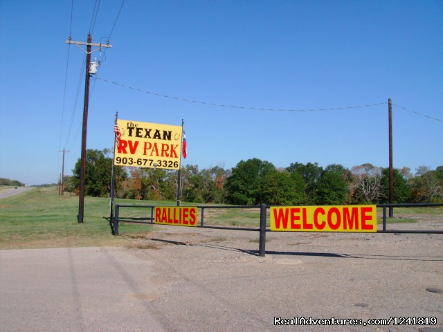 Texan RV Park Texan RV Park Entrance