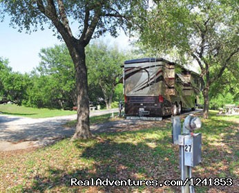 Guadalupe River RV Resort RV Sites