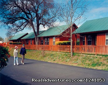Cabins (#2 of 8) - Guadalupe River RV Resort