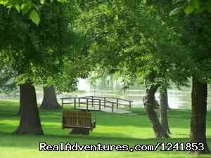 Park with the park (#5 of 8) - Guadalupe River RV Resort